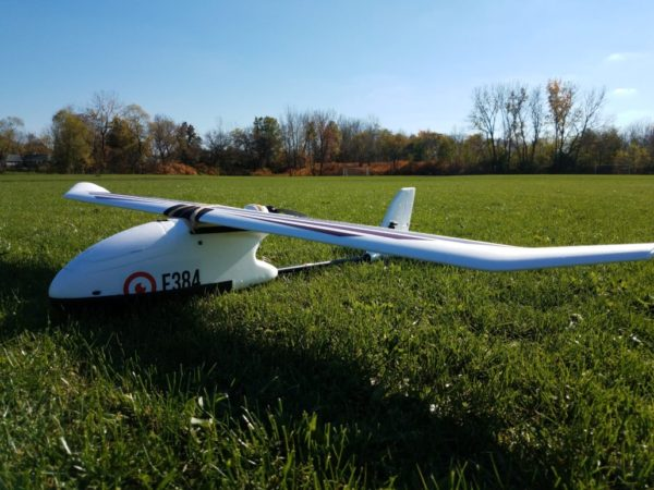 E384 fixed wing drone