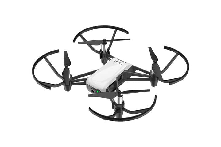 dji tello drone with propeller guards